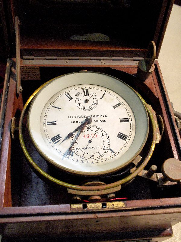Chronometer D 233 Finition What Is